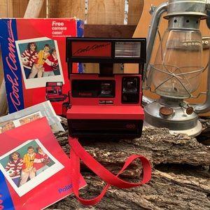 Vintage 80s Polaroid CoolCam W/ Box & Instruction.